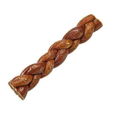 "Pawstruck Bully Stick Filled Esophagus Braids (9"")"