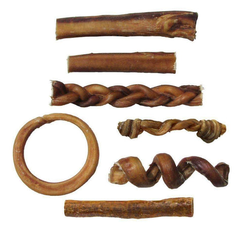 Pawstruck Bully Stick Variety Pack