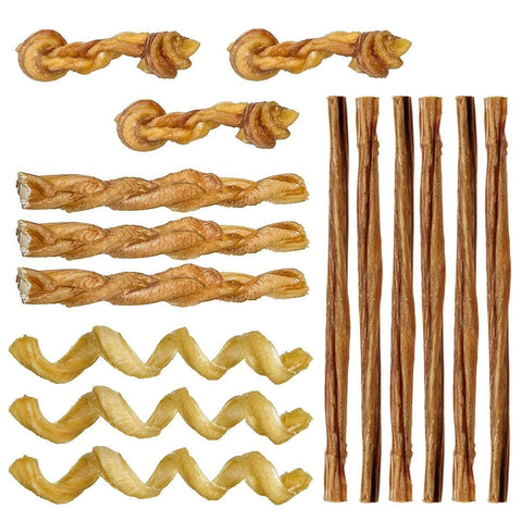 Pawstruck Mini Bully Stick Variety Pack