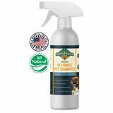 Pawstruck No-Rinse Dry Dog Shampoo for Dogs & Cats