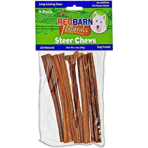 "Redbarn 5"" Steer Bully Sticks (6 pack)"