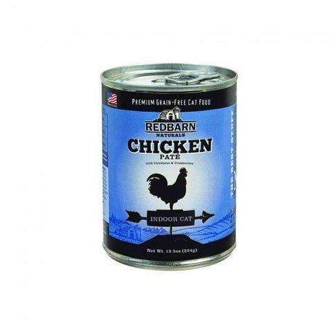 Redbarn Chicken Pate for Indoor Cats Canned Cat Food (12.5 oz)