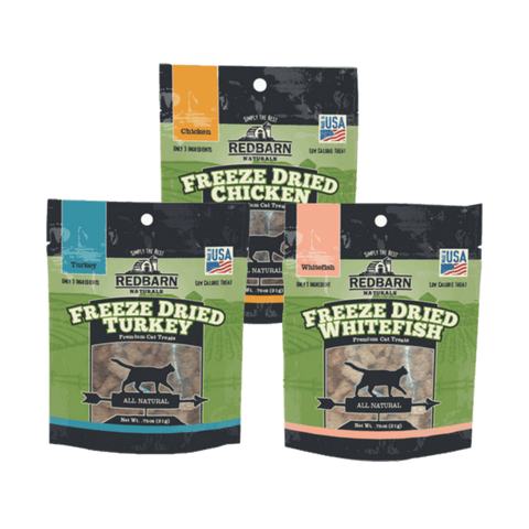 Redbarn Freeze Dried Cat Treats Variety Pack