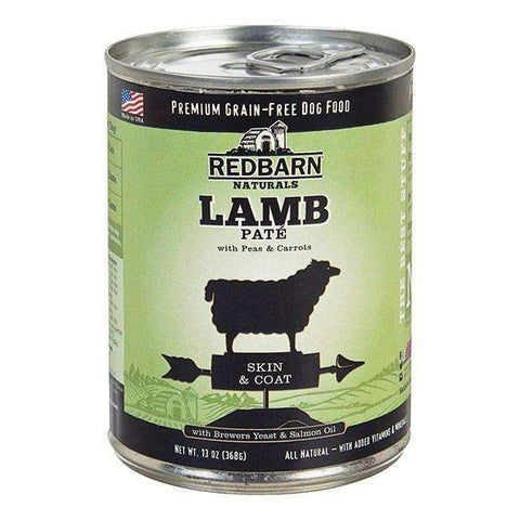 Redbarn Lamb Pate Canned Dog Food (Skin & Coat Formula)