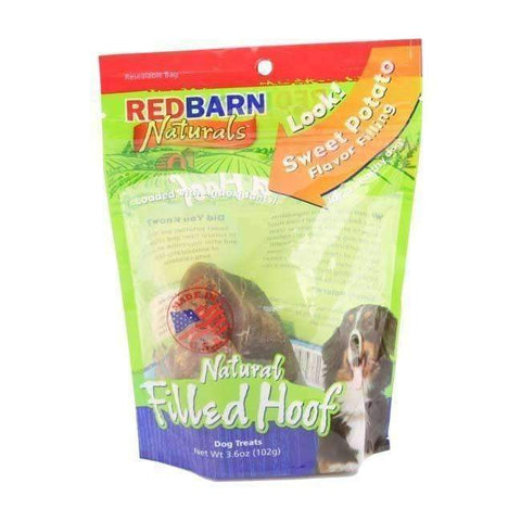 Redbarn Natural Filled Hoof: Sweet Potato