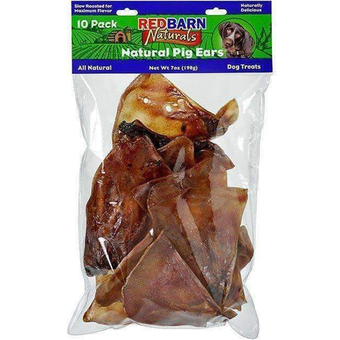 Redbarn Natural Pig Ears (10 pack)