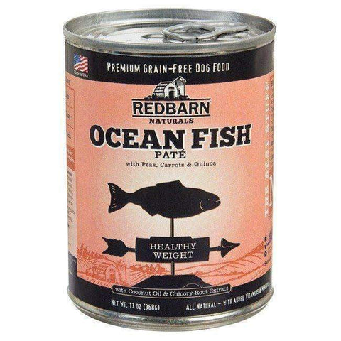 Redbarn Ocean Fish Pate Canned Dog Food (Healthy Weight Formula)