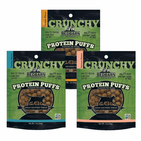 Redbarn Protein Puff Cat Treats Variety Pack