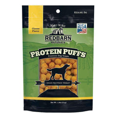 Redbarn Protein Puffs Cheese Dog Treats (1.8 oz)