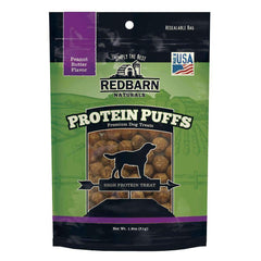 Redbarn Protein Puffs Peanut Butter Dog Treats (1.8 oz)