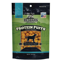 Redbarn Protein Puffs Turkey Dog Treats (1.8 oz)