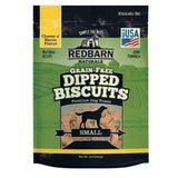 Redbarn Small Grain-Free Cheese n' Bacon Dipped Dog Biscuits (9 oz)
