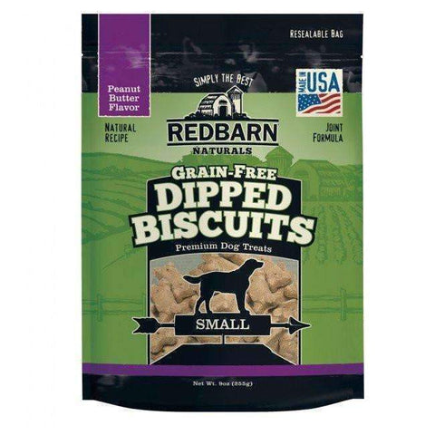 Redbarn Small Grain-Free Peanut Butter Dipped Biscuits (9 oz) [Discontinued]
