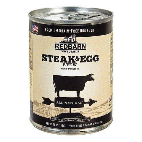 Redbarn Steak & Egg Stew Canned Dog Food