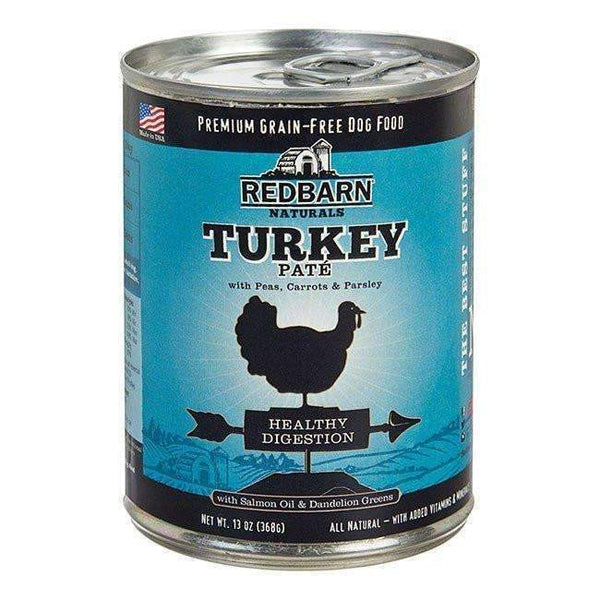 Redbarn Turkey Pate Canned Dog Food Healthy Digestion