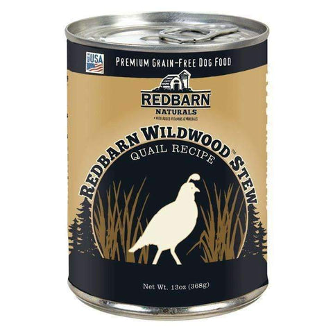 Redbarn Wildwood Quail Stew Strong Teeth and Bones Formula Dog Food