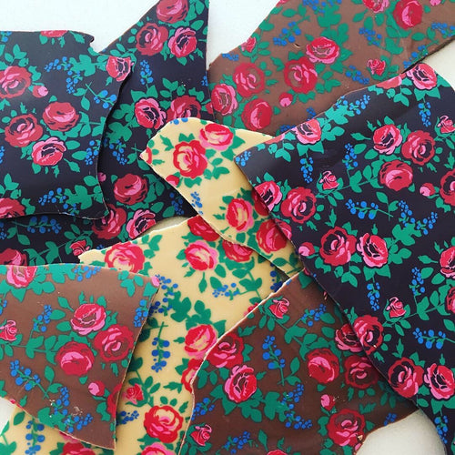 Floral Chocolate Bark
