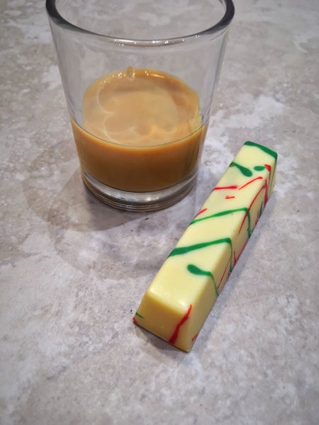 Gingerbread Caramel Filled Chocolate Stick