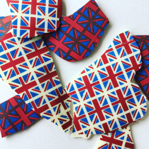 Union Jack Chocolate Bark