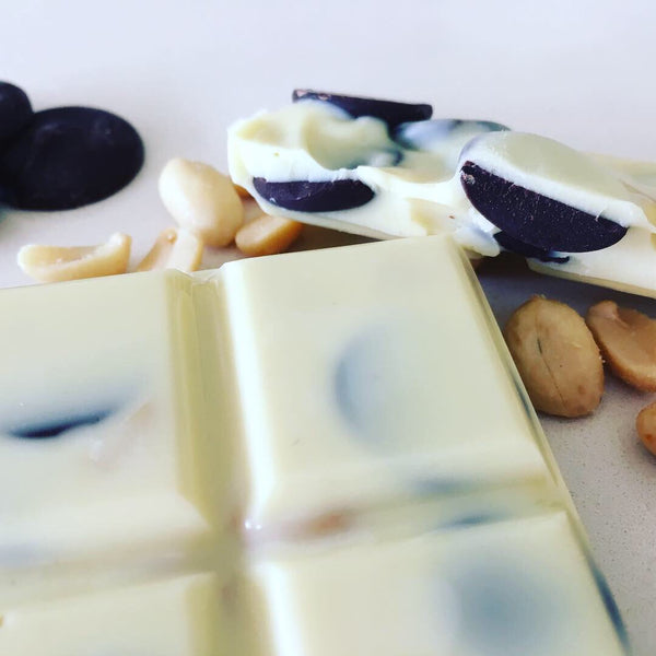 White Salty Peanut Chocolate Bar
