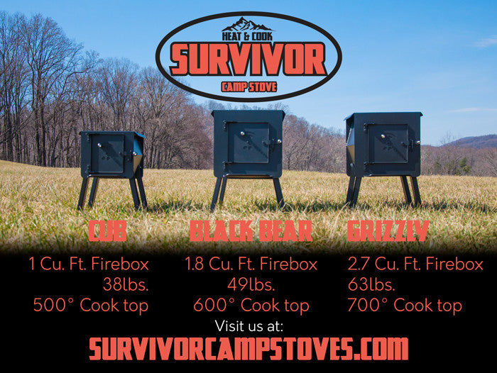 Survivor Camp Stoves / Accessories