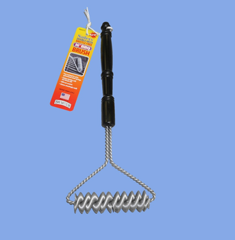 "Double Helix Bristle Free 16"" BBQ Brush"