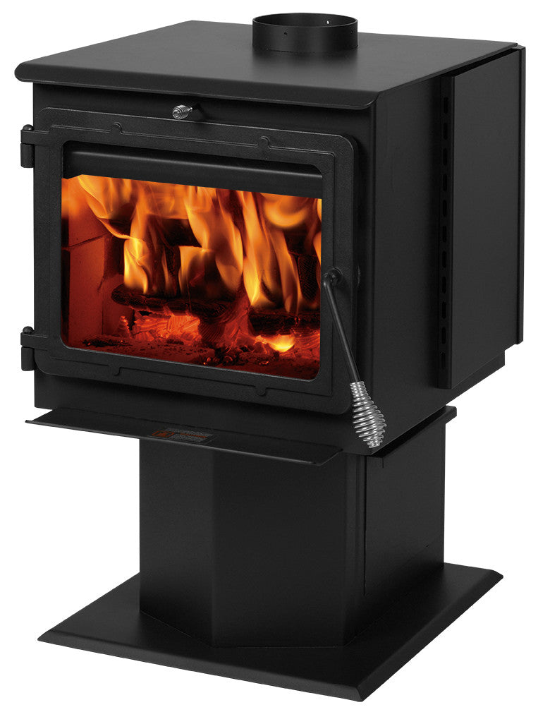 50-TRSSW01 Madison smart stove - 2000 sq ft wood stove- new
