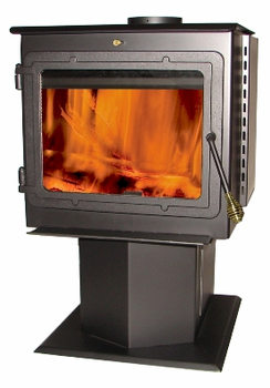 50-TRSSW01 Madison smart stove - 2000 sq ft wood stove (recdonditioned)