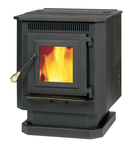 55-TRP10 - PELLET BURNING STOVE - 1,500 sq. ft. factory-refurbished