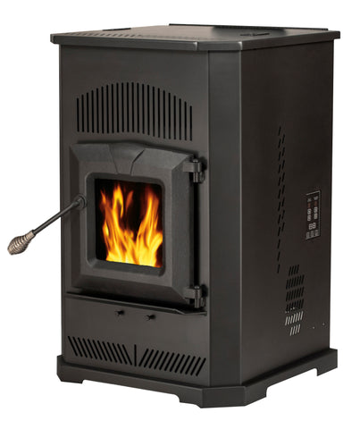 55-TRPCAB80 - PELLET BURNING STOVE  - 2,000 sq. ft. (F2)