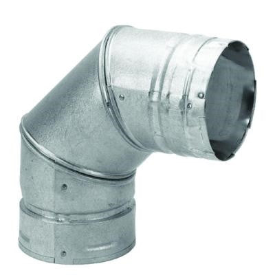 "DuraVent PelletVent 3"" 90 Degree Elbow-Part Number: AC-3090"
