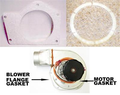 COMBUSTION BLOWER AND MOTOR GASKETS | PART NUMBER: PU-CBMG