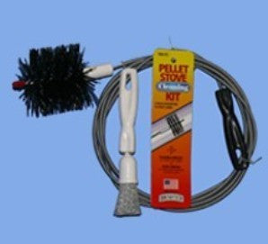 "PELLET STOVE CLEANING KIT for 3"" Vent pipes"