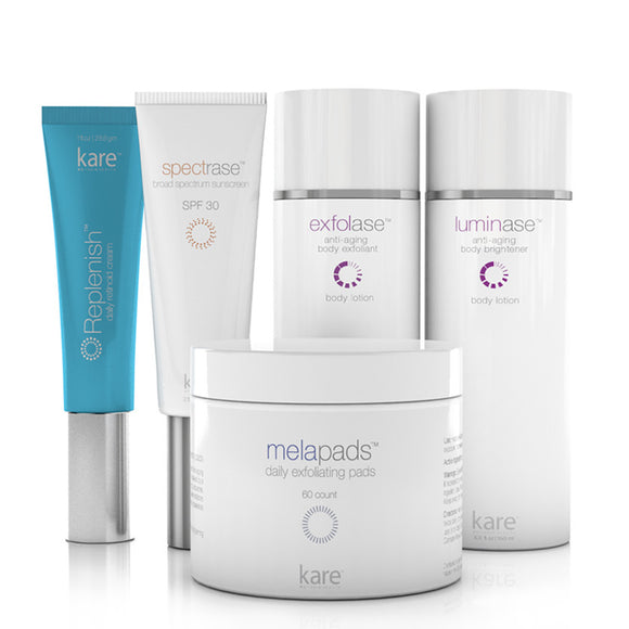 Body Brightening Kit - SPECIAL INTRODUCTORY PRICE - Kare MD Skin Health