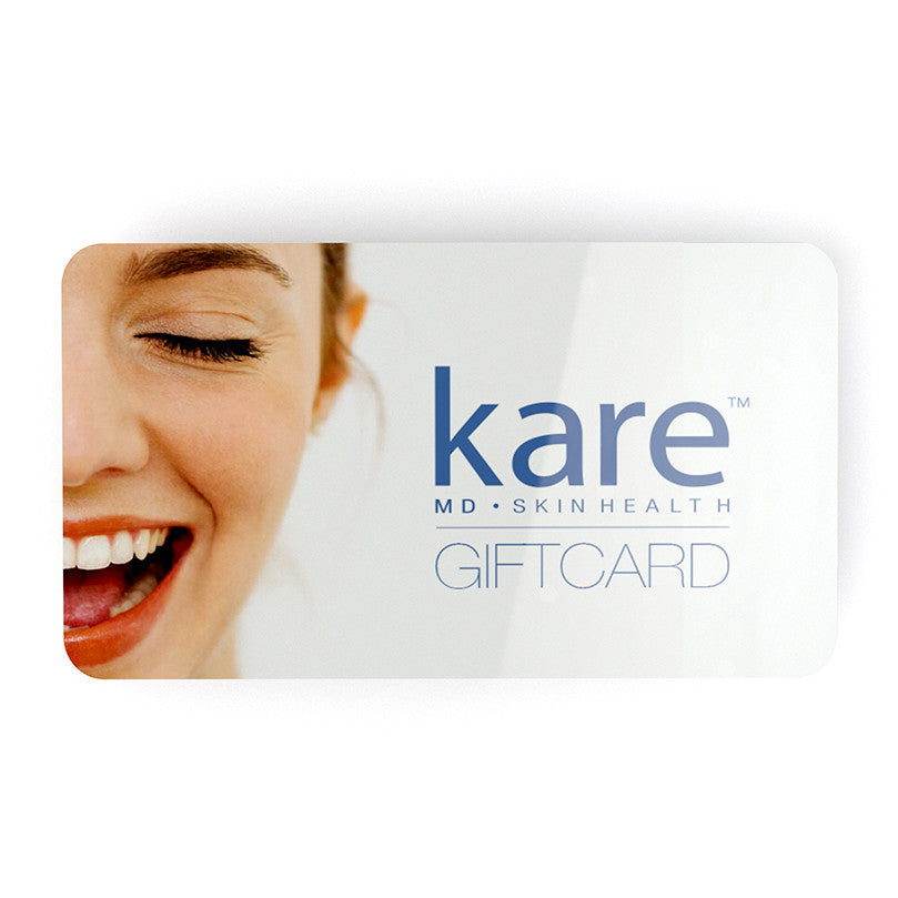 Kareskin promotion giftcard for medical skincare including Melarase and Melapads. Melarase PM can help reduce pigmentation.