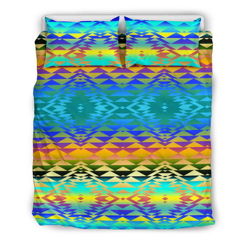 Taos Blanket Frost Bedding Set