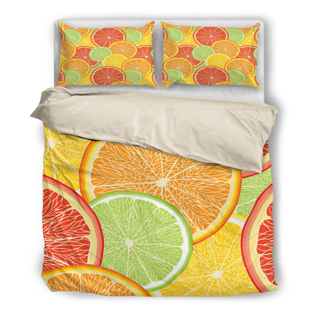 Citrus Slice Bedding Set