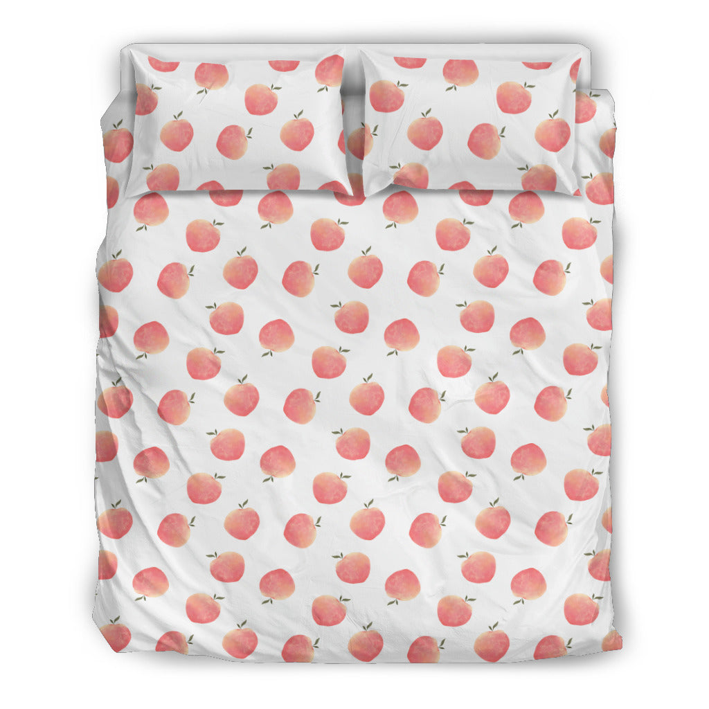 Peach Bedding Set