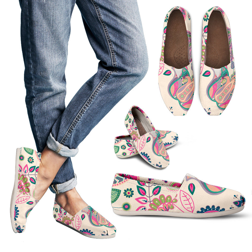 Floral Zen | Casual Shoes