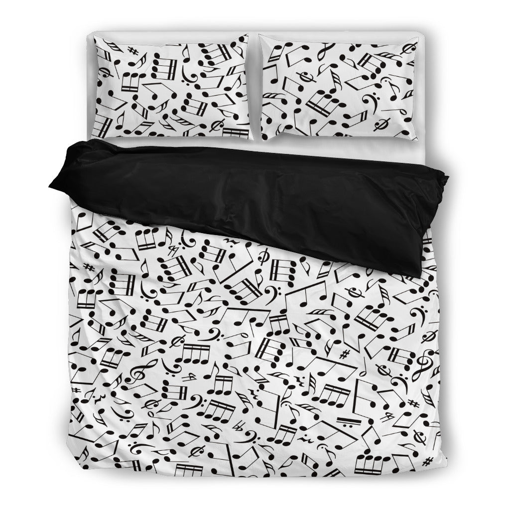 Bedding Set Music Notes design
