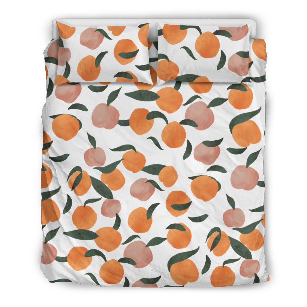 Peaches Bedding Set