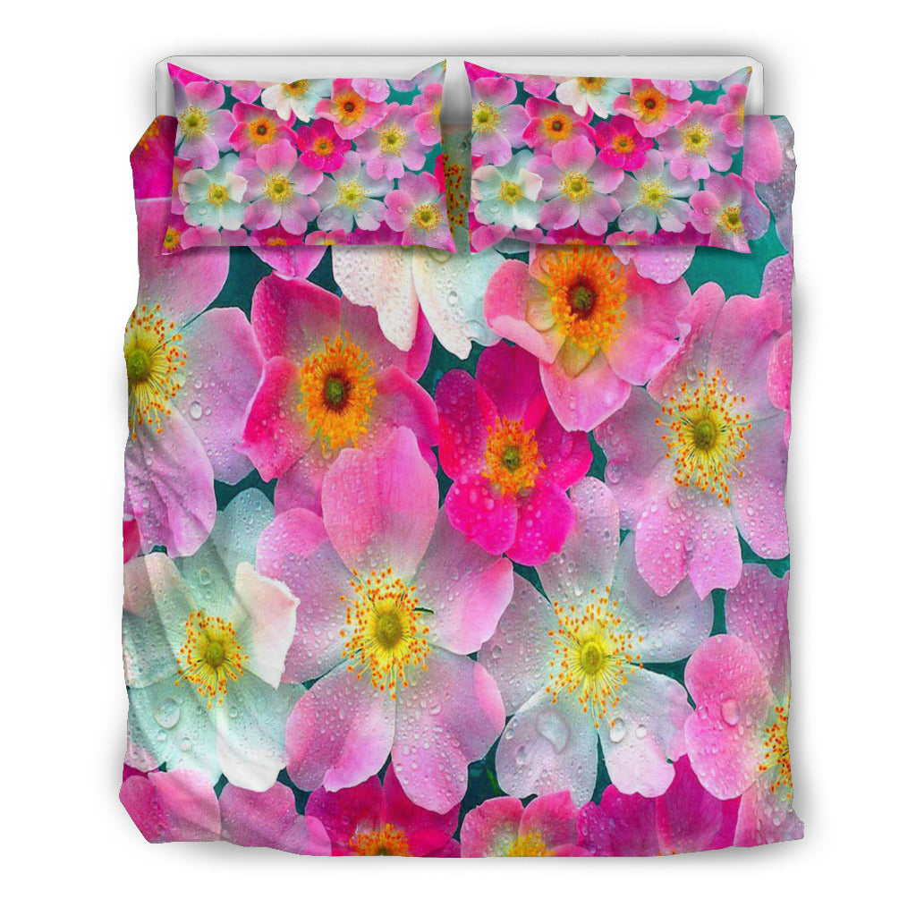 Bright Flowers Doona Bedding Set