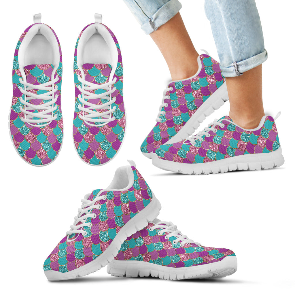Mermaid kid's sneakers