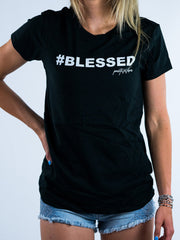 Blessed Tee - Positive Vibes Clothing