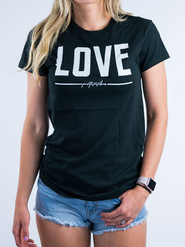 Love Tee - Positive Vibes Clothing