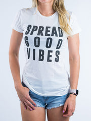 Spread Good Vibes Tee - Positive Vibes Clothing