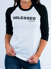 Blessed Baseball Tee - Positive Vibes Clothing