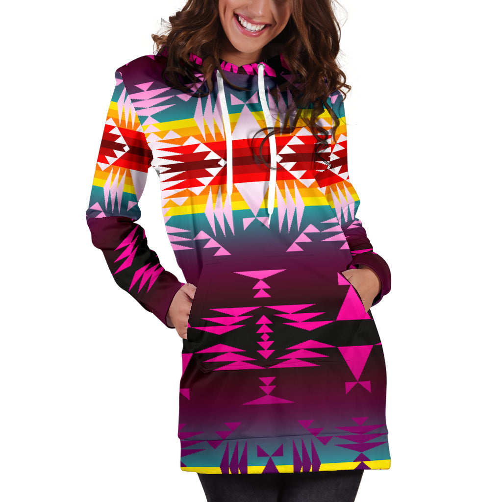Between the Appalachian Mountains Hoodie Dress
