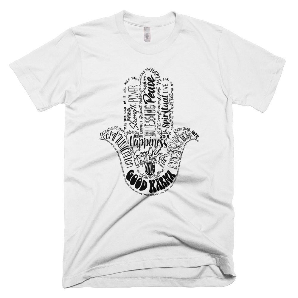Men's Hamsa Word Art Tee