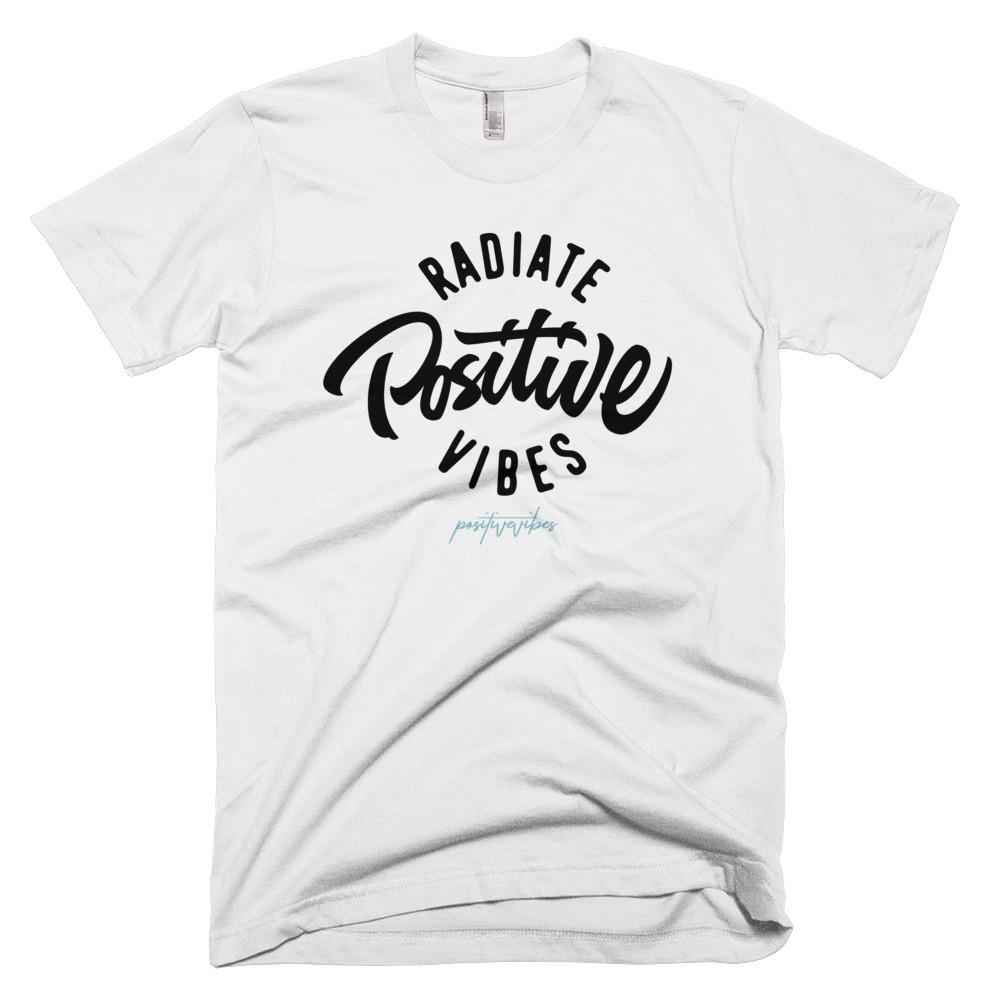 Men's Radiate Positive Vibes Tee - Positive Vibes Clothing